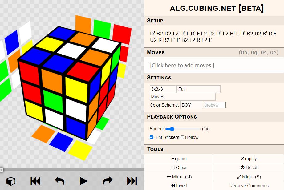 Scrambled Cube